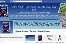 Social Networking / Social networking with Former Military Spouse about Military Divorce issues and the USFSPA / by Former Military Spouse ~ Military Divorce