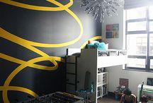 Boy room ideas / by Lucy Santillan