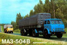 R Russian Trucks - MAZ / Trucks of the Russian brand MAZ.