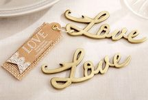 Love Themed Wedding Favors / Love Themed Wedding Favors are perfect for wedding party favors, engagement party favors, wedding shower favors, bridesmaid gifts and wedding anniversary favors.