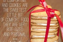 """Cookies, Cakes, Pastries and Other Treats / We aren't just infatuated with bread; there's room for cookies, pastries, and the like! Recipes and pictures to follow.  """"Let's face it, a nice creamy chocolate cake does a lot for a lot of people, it does for me."""" - Audrey Hepburn"""