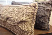 Almofadinhas de trico