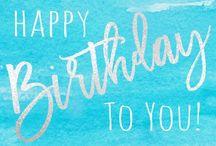Birthday & Holiday Greetings!!