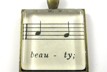 Beauty musical notes