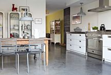 keuken / Inspiratie voor n stoere keuken