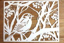 Paper cut art