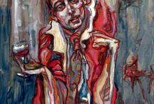 Loïc AllemandLoïc ALLEMAND (Né en 1973) - Femmes dans un intérieur - Huile sur toile, ..... Peintures, Sculptures & Tapisseries. / Peintre
