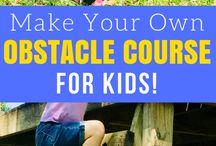 Gross Motor Activities for Kids / Fun ideas to help kids develop gross motor skills!