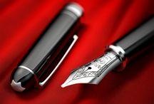 Fountain pens / Collectible writing pieces