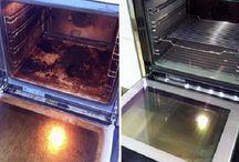limpeza do forno