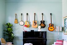 Interior: Bedroom, Music room