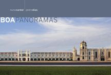 Photography Books - Panoramas / In this collection of panoramic albums we intend to create highly portable books, that allow us to simultaneously have widened and ample views of the portrayed places.