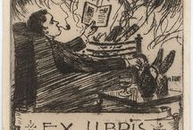 Book: ex Libris, Book Plates / Personalized book plates of book lovers
