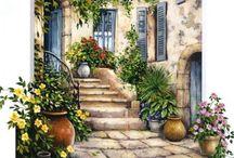 картинки дворики-окна
