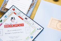 Monopoly party / by Kendra Abdul-Malik