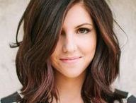 Thinking about cutting my hair / by Deanna Butera