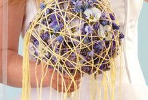 Bridal Bouquet Tutorial / Use wool wires and a balloon in your design!