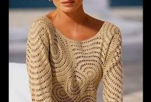Crafts - Crochet - Tops and blouses