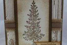 Stampin harwdwood