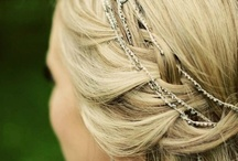 Wedding Hair Style / [♡Fil d'Épices♡ Jewels of custom-made wedding] www.fildepices.com