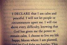 Words / Quotes/Scripture/encouragement