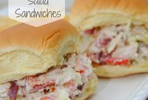 Sandwhiches / by Kimberly Childers