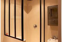 Douches de salle de bains