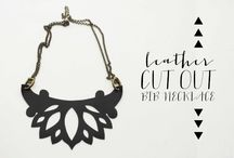 leather- necklace