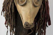 Chokwe Animal African Mask - Congo DRC