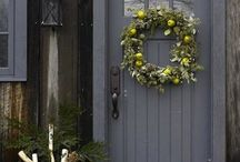 What an Entry! / House front, the facade, the porch