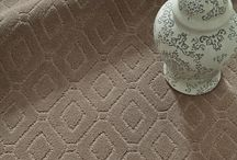 Annadelle / Annadelle is an exquisite, solid color, cut and loop diamond carpet design.