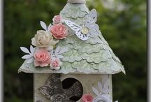 Altered houses / bird houses