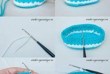 Zapatos BB crochet