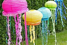 Ideas for Ivy's Mermaid Party / by Adrienne Rawl