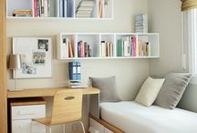 Small Space Living / Design ideas for tiny living spaces