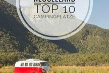 Neuseeland im Campervan / Neuseeland muss man im Campervan oder Wohnmobil entdecken, daran führt kein Weg vorbei :-)