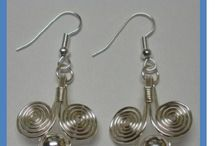 metal work jewelry / by Barbara Lowry