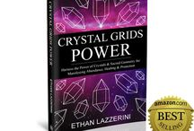 Ethan Lazzerini / Ethan Lazzerini is the author of the No.1 Amazon Bestselling Book Crystal Grids Power and Crystal Healing For The Chakras. He lives in Yorkshire, England and has been working with crystals for over 20 years. Ethan works intuitively and practically with crystals to access the energy and information they hold.