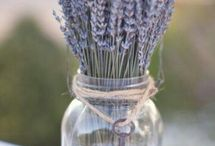 Deko mit Lavendel