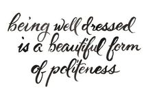 FASHION QUOTES / My favorite fashion & life quotes! www.louisa-maureen.com