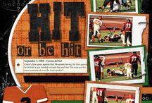 Sports scrapbook ideas / by Tracie Coffel-Neville