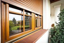 Utvendig solskjerming / Fasadepersjenner, screens, insektsnetting, rullesjalusier.