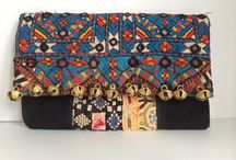 VINTAGE by SIENNA BELLA / One-of-a-kind Clutch Bags & Cosmetic Cases made from individually selected vintage indian textiles, made by artisans in India