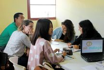 Intensive Spanish courses Málaga / Wanna study in attractive and fun Spanish classes? Come to learn Spanish with us in Málaga and become a fluent speaker!