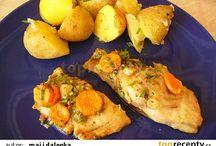 rybí recepty