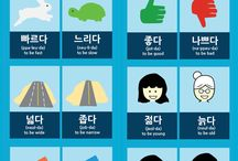 korean words / it is good to know many languages