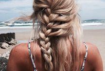 Cabelos de praia