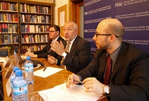At the Library - PISM Seminar: A New Player in the Region? The Main Directions of the Foreign and Security Policy of Romania / 8 kwietnia 2012 Polski Instytut Spraw Międzynarodowych zorganizował zamknięte seminarium eksperckie / On 18 April 2012, the Polish Institute of International Affairs organized the closed expert seminar 