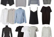 модные образы.базовый гардероб