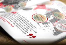 Our work - Graphic design & print / Portfolio of our latest graphic design and print work here at Astwood Design